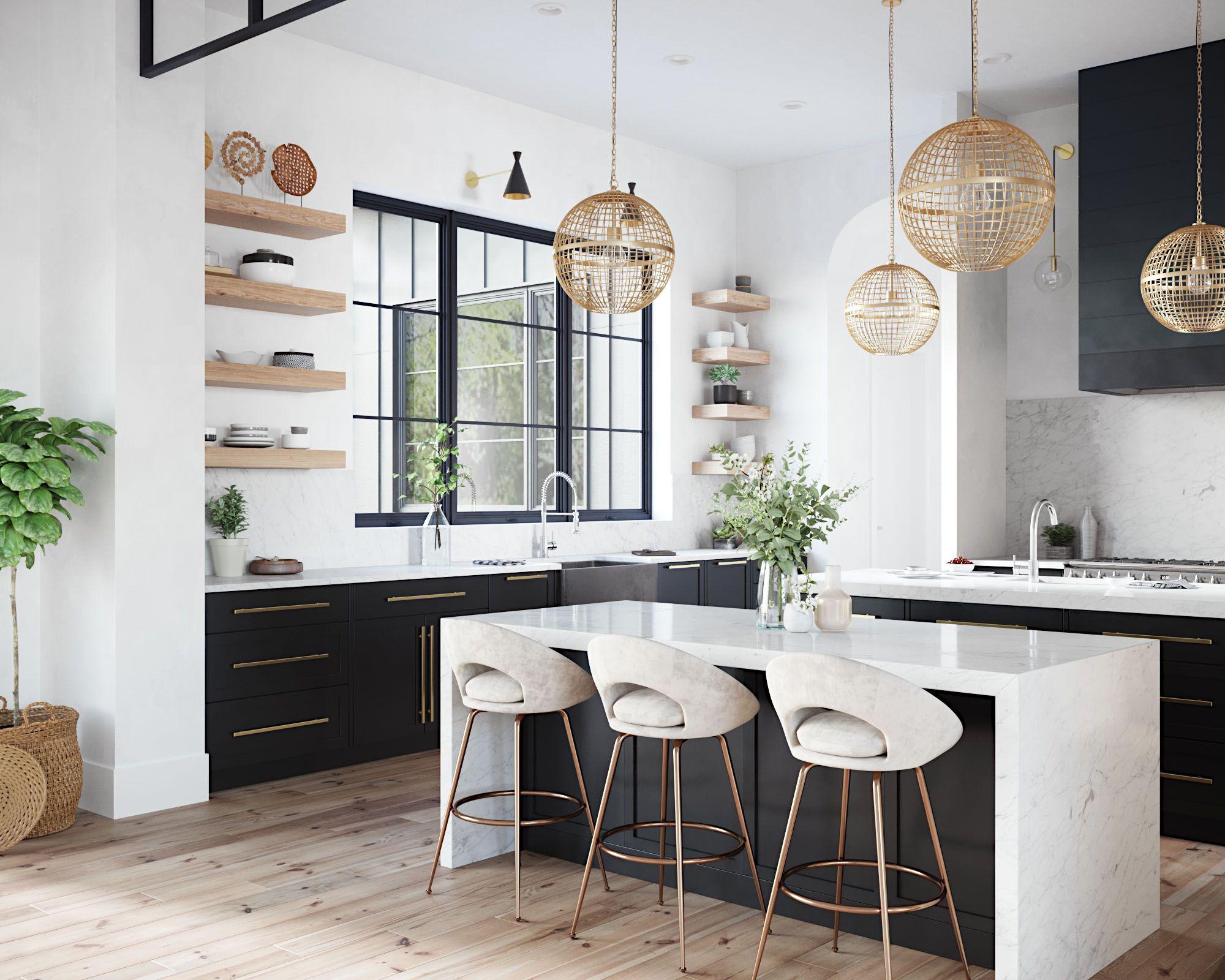 Nskq3320 S Farmhouse Quartet Kitchen Sink In Slate Contemporary Home Decor Kitchen Design Trends Home Decor