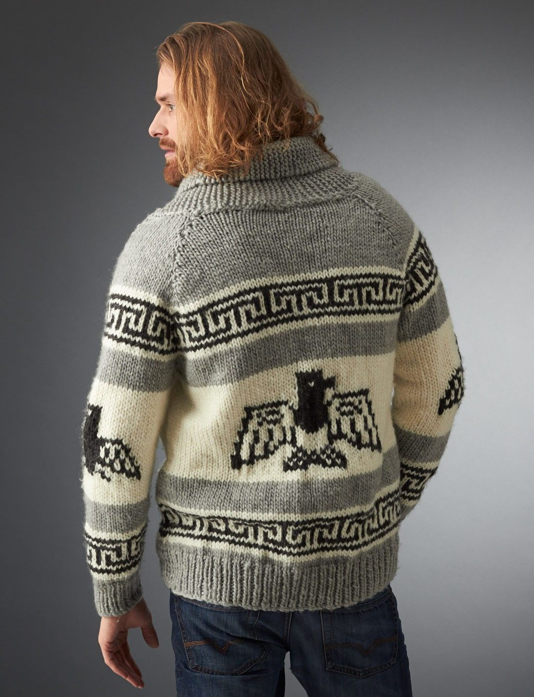 Yarnspirations.com - Bernat I\'m the Dude Jacket - Patterns ...