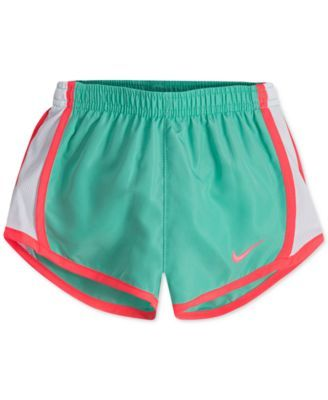 huge discount e009b 029eb Nike Dri-fit Tempo Shorts, Toddler Girls - Green 3T