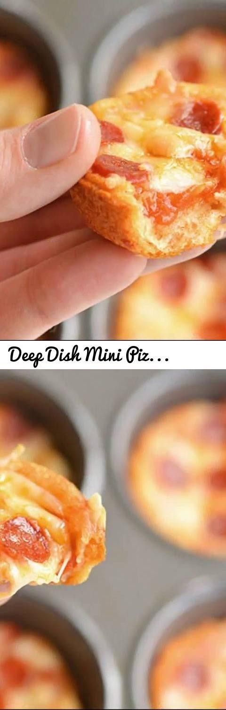 Deep Dish Mini Pizza Recipe Tags Deep Dish Mini Pizza Recipe