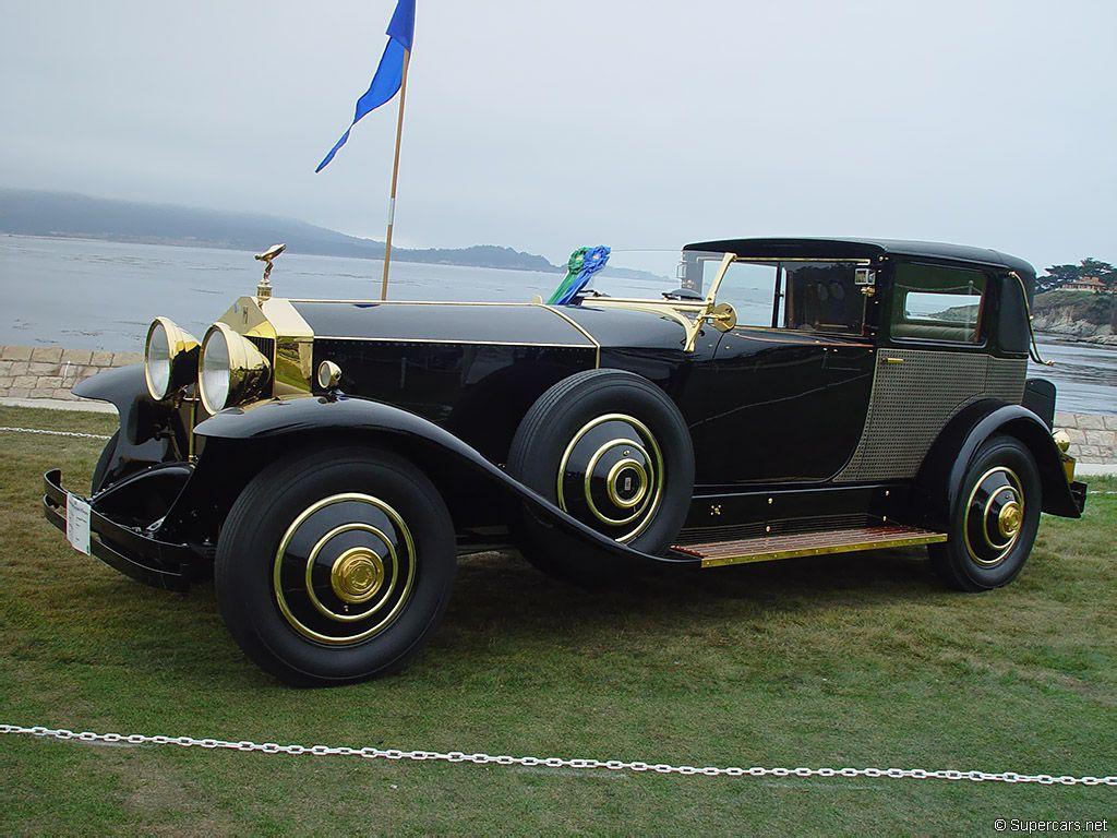 1929 RollsRoyce Springfield Phantom I Brewster Rivera Like the