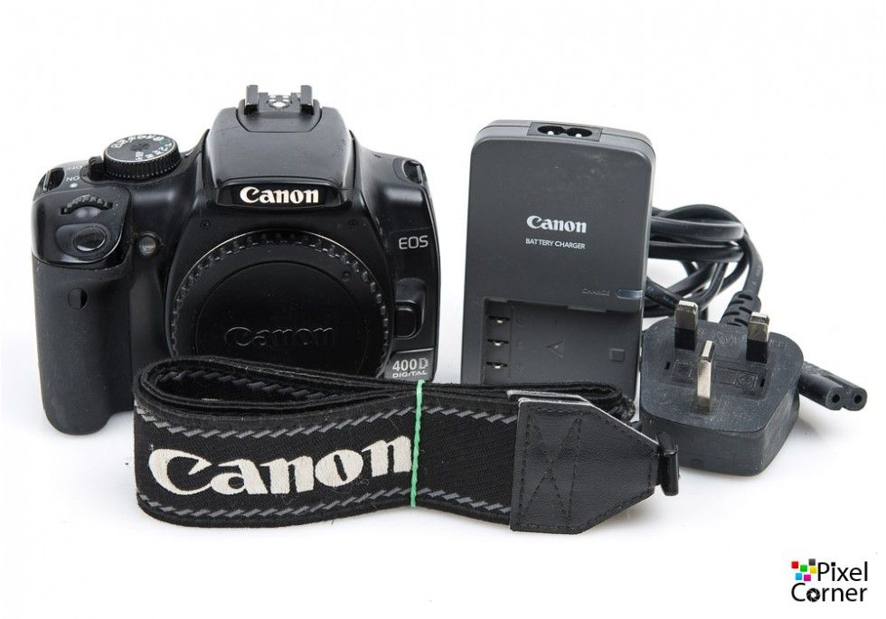 Canon eos 400d 10 1mp dslr digital camera body 1280612710