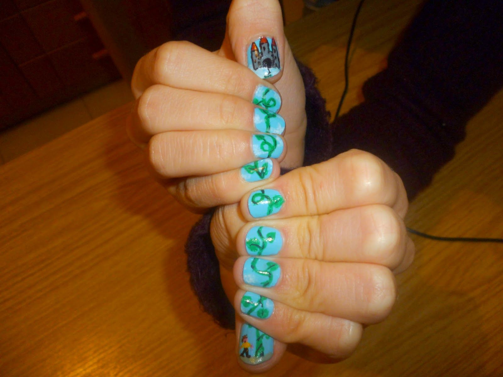 Creative nail design love this creative nail design across all creative nail design love this creative nail design across all nails awesome prinsesfo Choice Image