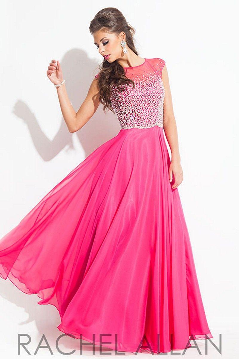 Simplistic elegance emanates from the aline silhouette of rachel