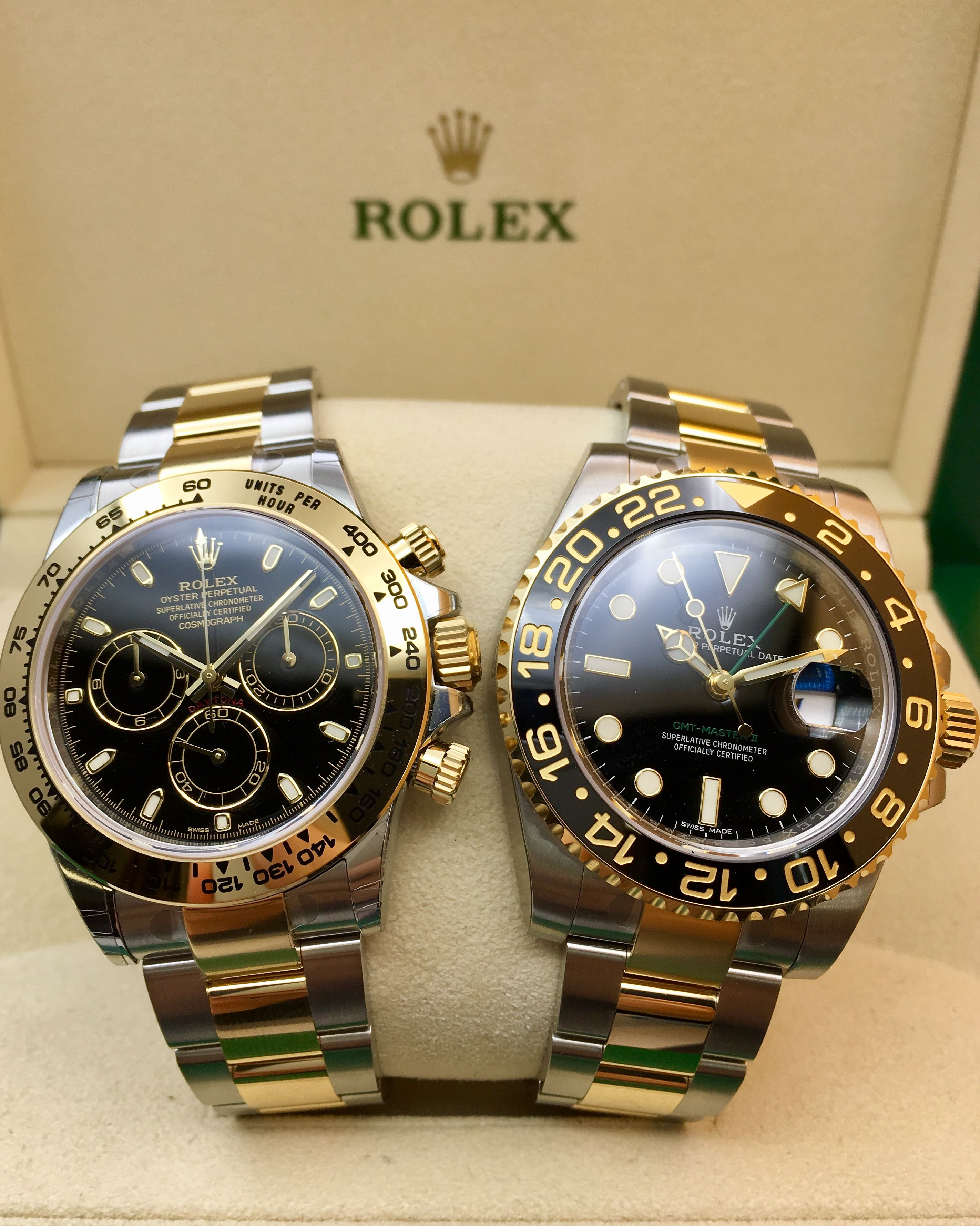 cea5788c9d1 Its all about the Sports Models! #DailyDuo   Rolex   Watches ...