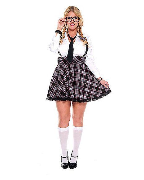 f21894de4 High Class Nerd Plus Size Costume - Spirithalloween.com - Online  49.99