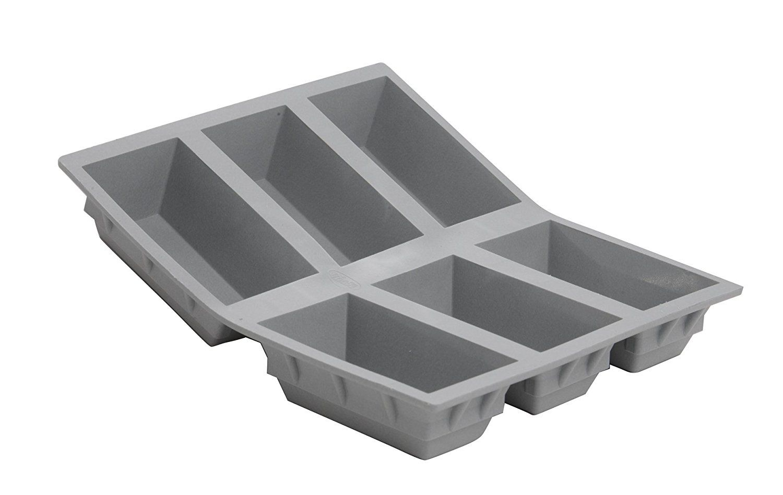 Debuyer Elastomoule 6 Mini Loaf Silicone Mold Remarkable