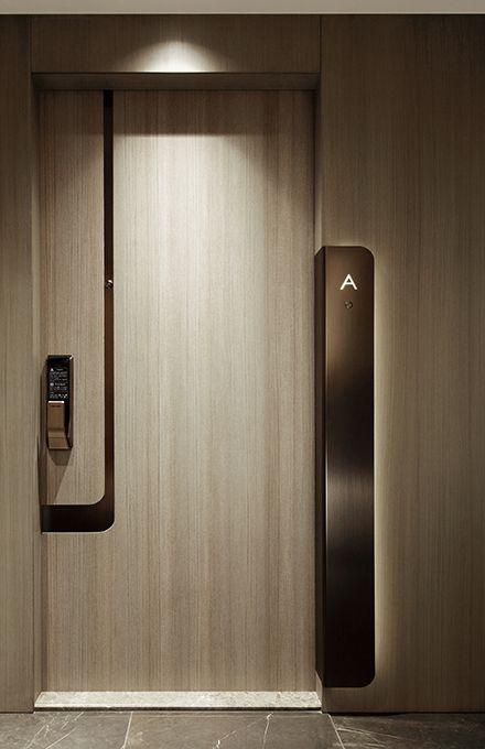 Lime Gala Elevation Room Door Design Front Door Design Wood Corridor Design