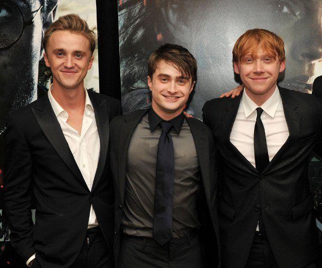 Daniel Radcliffe And Rupert Grint Tom Felton, Rup...