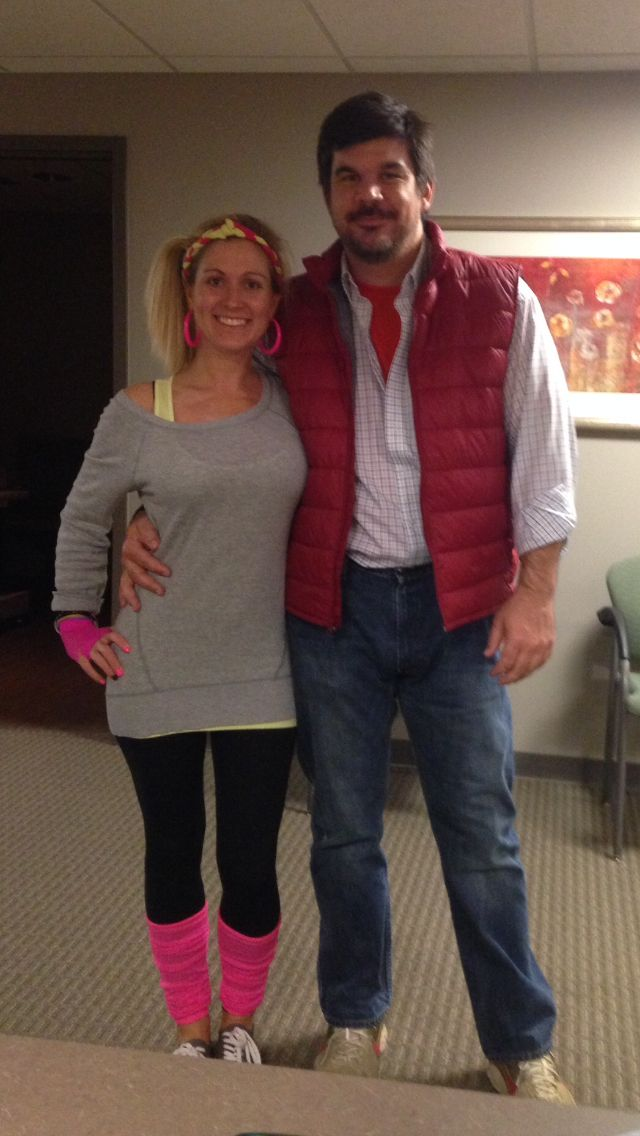 80s Themed Party Flashdance Meets Back To The Future.