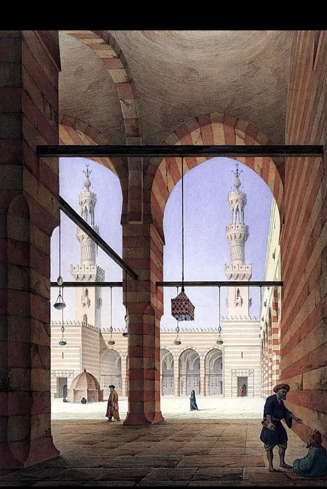 صور مرسومة لمصر أيام زمان التى لم تراها أعيننا رسومات لشوارع وابنية ومساجد مصر ايام زمان صور مرسومة مل Art And Architecture Architecture Sketch Islamic Art