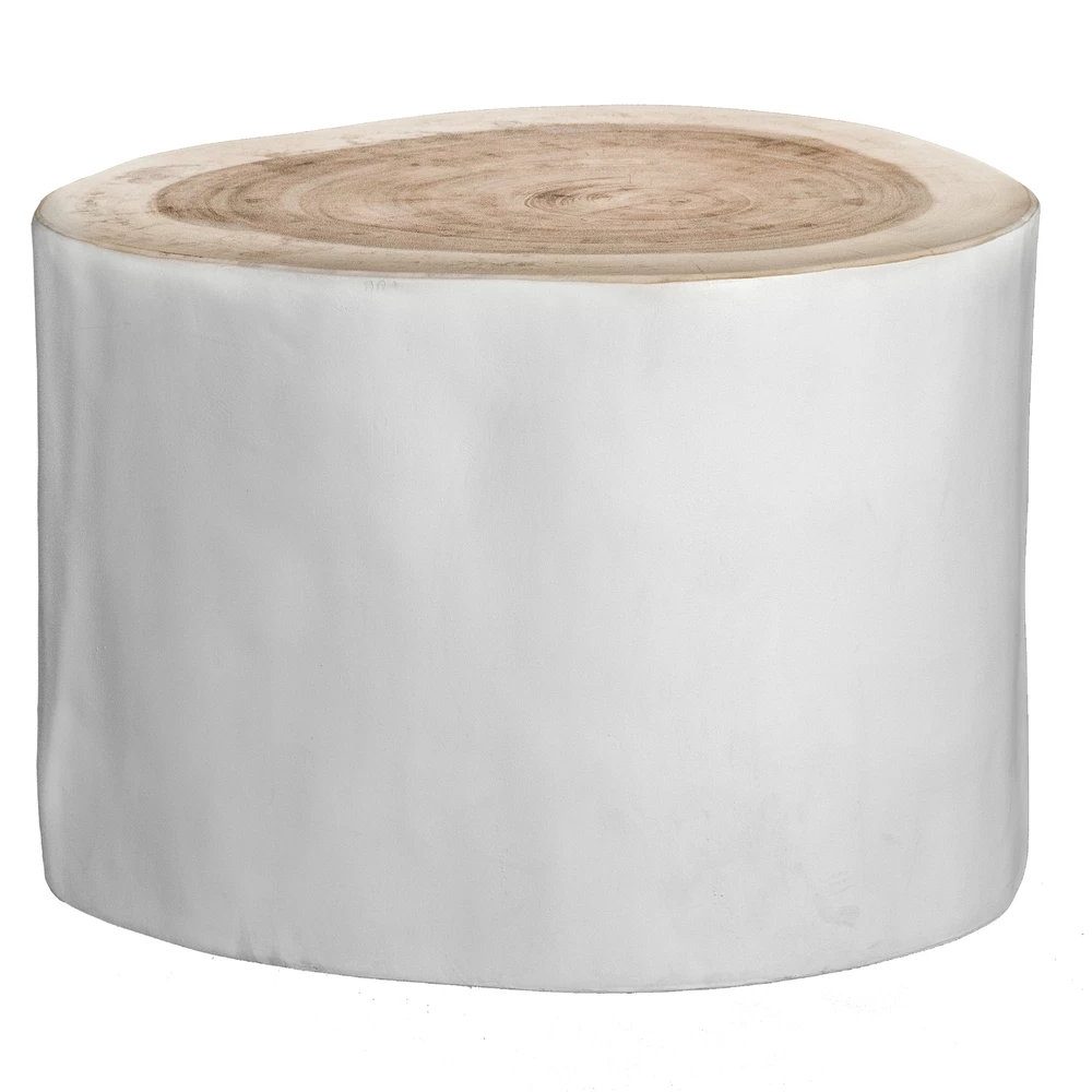 Trunk Side Table White By Uniqwa Furniture In 2020 White Side