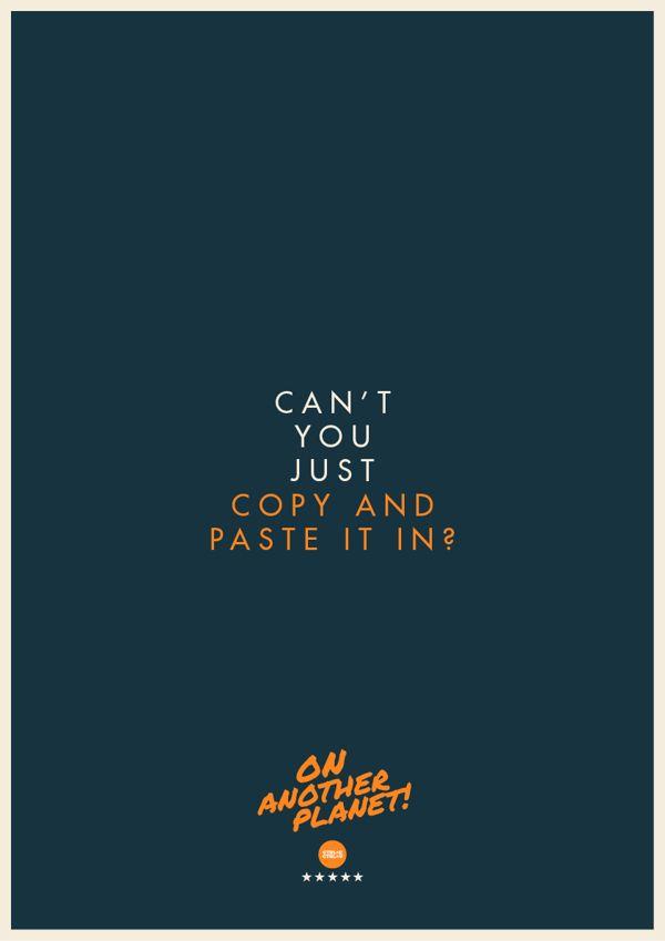 Designer Turns Common Client Quotes Into Hilarious Posters Graphic Design Humor Graphic Design Memes Graphic Design Posters