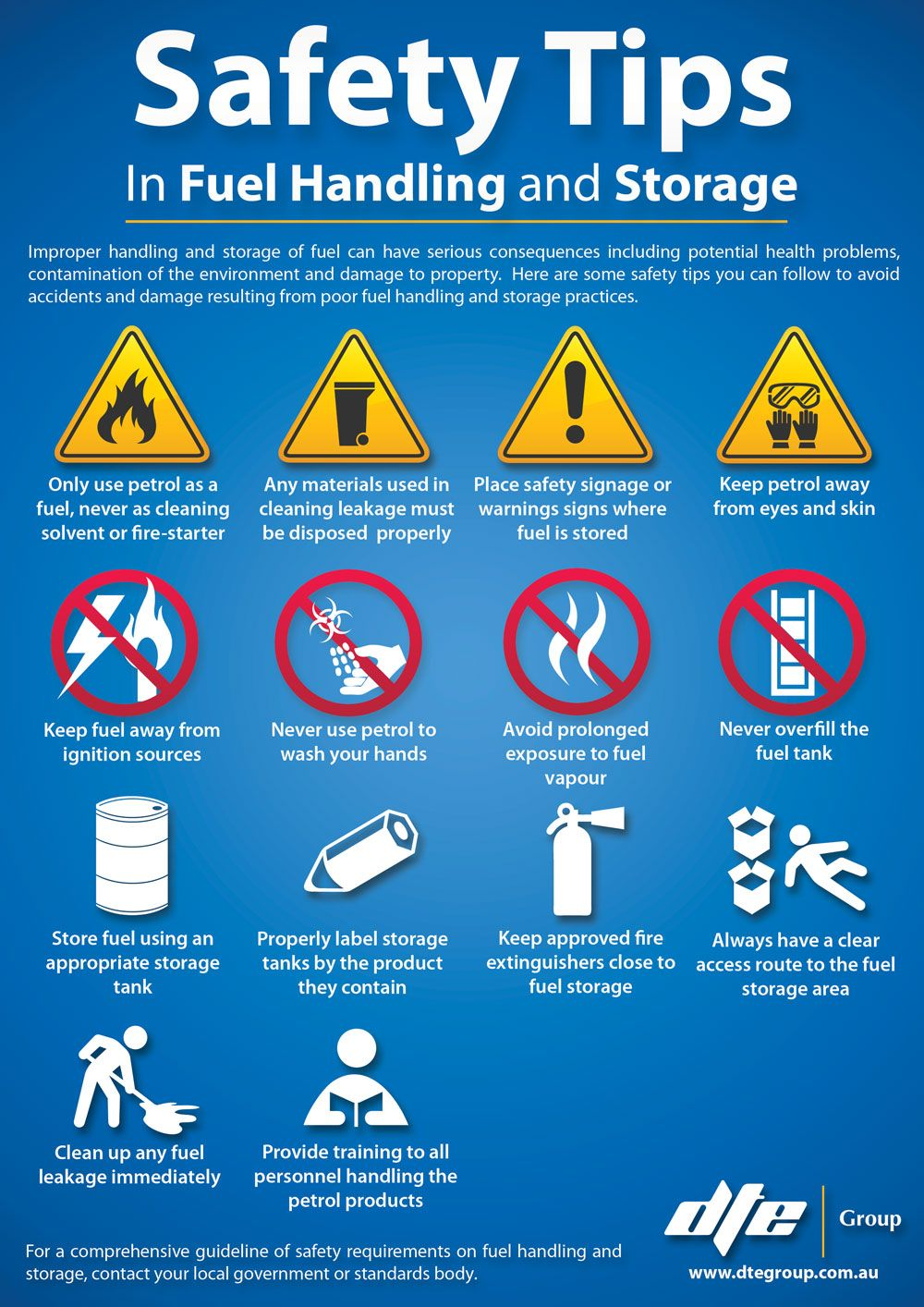 Some practical tips on fuel handling and storage! Safety