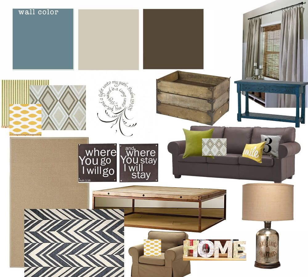 Industrial/casual Living Room Design- Troy Student Center