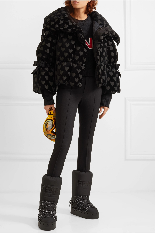 Fendi Houndstooth Coat Dress Google Trsene Down Jacket Jackets Women Jeans