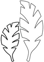 Image Result For Jungle Leaf Template Theme Safari Fleurs En Papier Theme Soiree