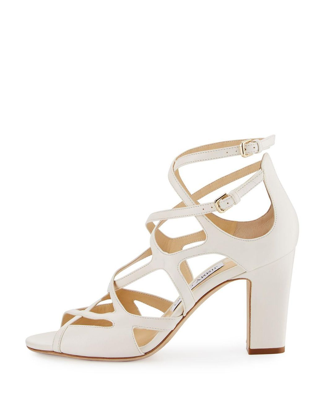 Jimmy choo Slip on block heel sandals Sale Cheap Price RWGgw