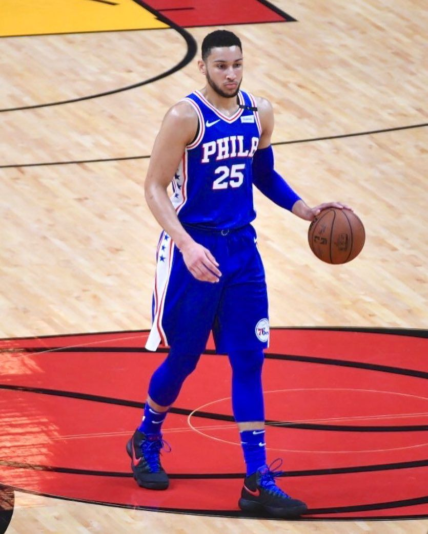 9eaf9ca633ff Ben Simmons posted the first rookie triple double since Magic Johnson in  1980.  WhatProsWear