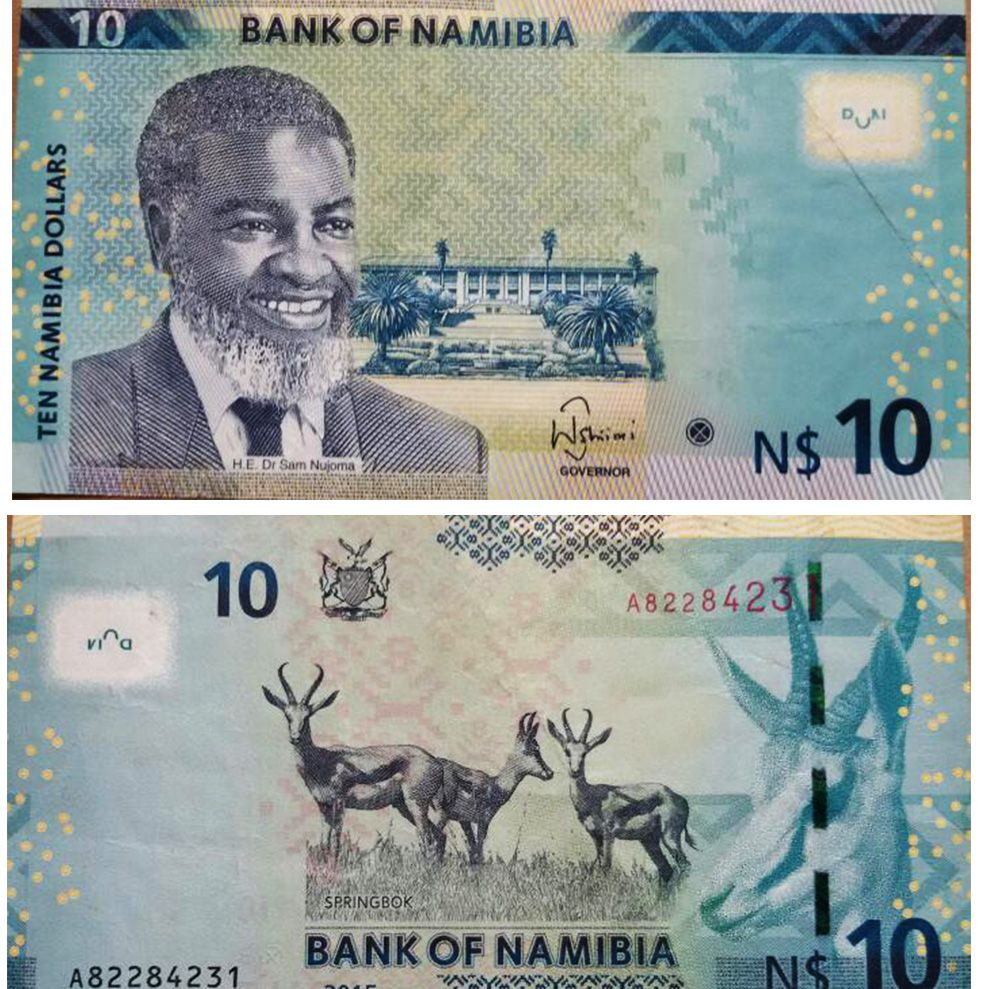 Namibia Banknote 10 Namibia Dollar 2012 UNC