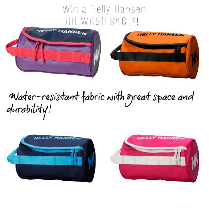 #Win a #HellyHansen #travel #washbag with water-resistant fabric great space and…