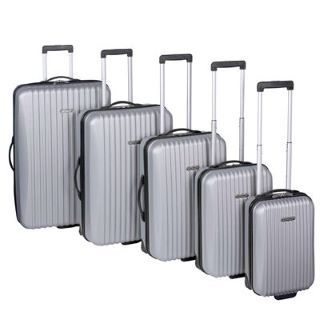 Dunlop 5 Piece Hard Case Suitcase Set  http   www.holdall. 6ddb29c9b