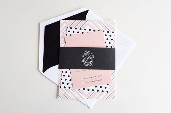 Coco | Wedding Invitations | Hello Tenfold  For more insipiration visit us at https://facebook.com/theweddingcompanyni or http://www.theweddingcompany.ie