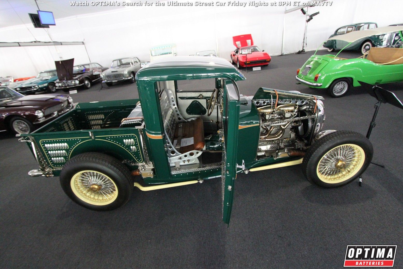 The 1932 Ford Miller Hauler Special Hot Rod at the Motostalgia ...