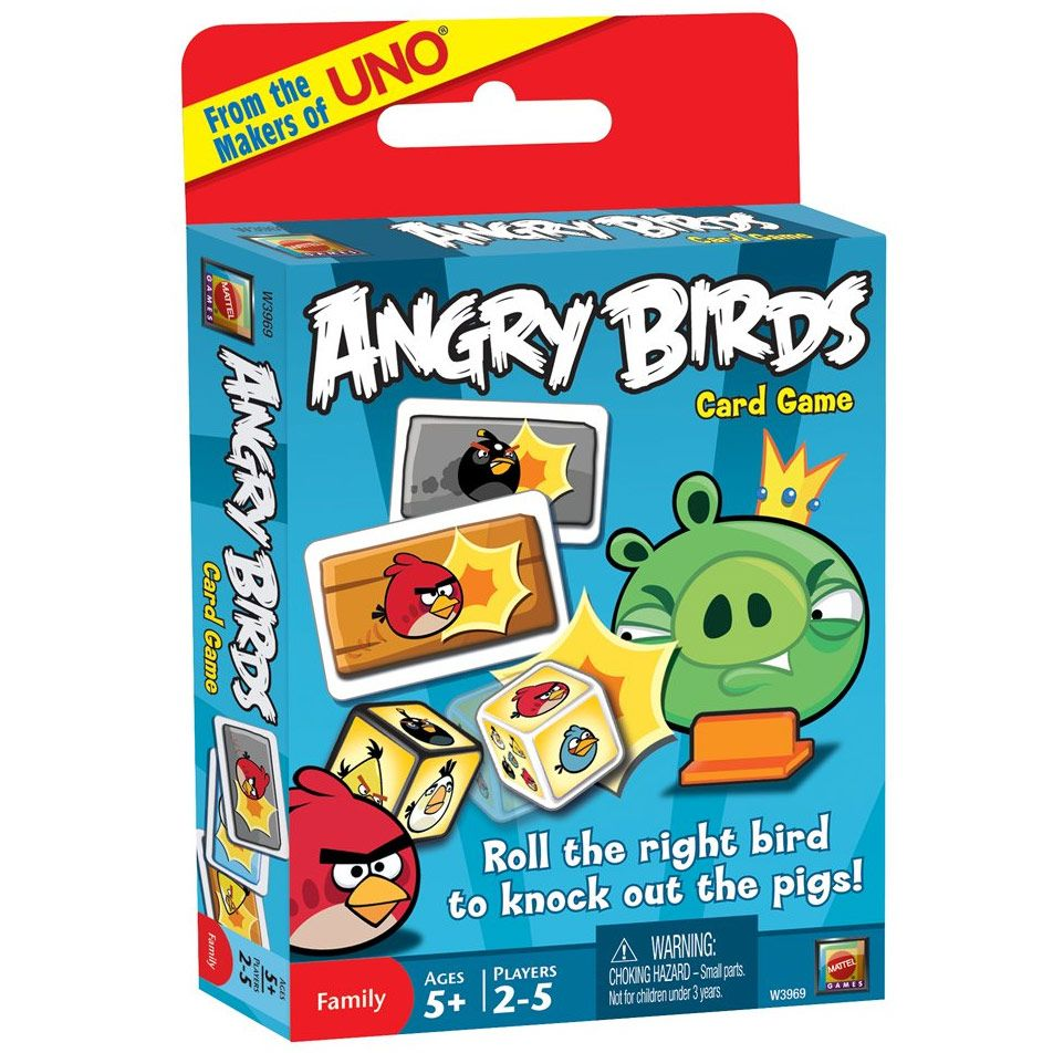Angry Birds Licensed Card Game [From the Makers of UNO