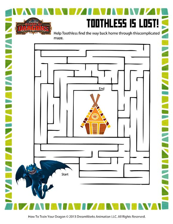 Free How to Train Your Dragon Printables, Downloads, and Crafts