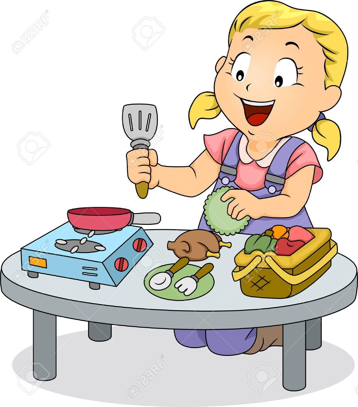 Dibujos de ni os cocineros buscar con google cocinar - Nina cocinando ...