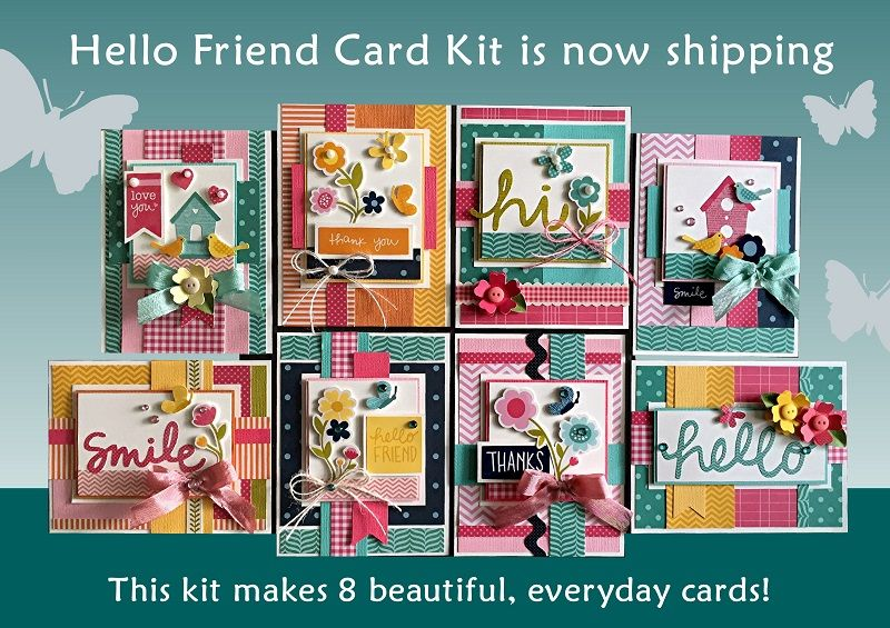 Kim S Card Kits Unique Handmade Card Kits Card Making Kits