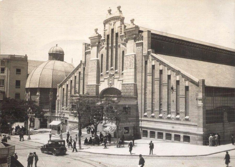 Mercado Central. Fachada principal Año: 1939