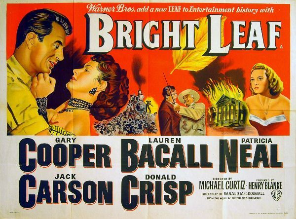 bright leaf 1950 gary cooper lauren bacall uk quad poster closed 01 sep 2016 see similar item on sale now at cqout online auctions large range of movie