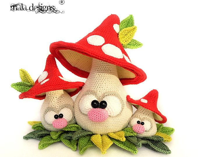 Garden Gnomes Crochet Pattern By Mala Designs Hooked