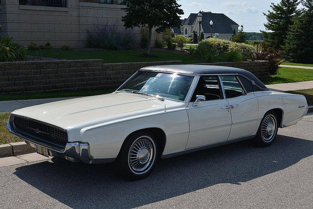 My 1967 Ford Thunderbird 4 Door Landau My Last Real Car From Before Marriage American Classic Cars Cool Old Cars Retro Cars