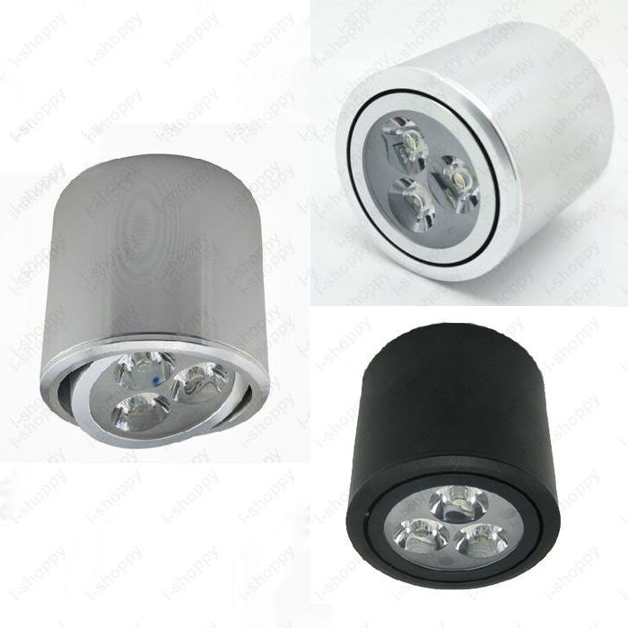 cylinder 3w dimmablenot led ceiling down light surface mounted spot lamp hotel