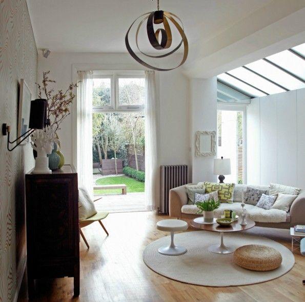 A Londres, blanc, tons neutres et douceur pour une maison du0027artiste