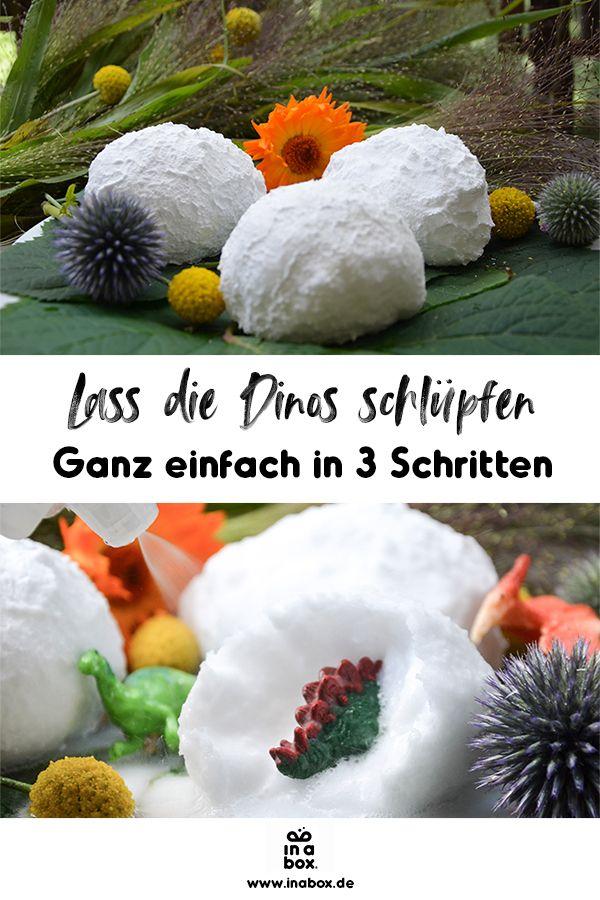 Photo of DIY: Lass die Dino-Babys aus ihren Eiern schlüpfen