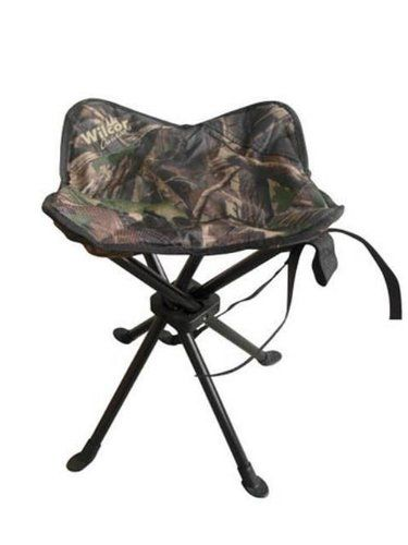 Camping Stools Camo Four Legged Folding Stool With Sand