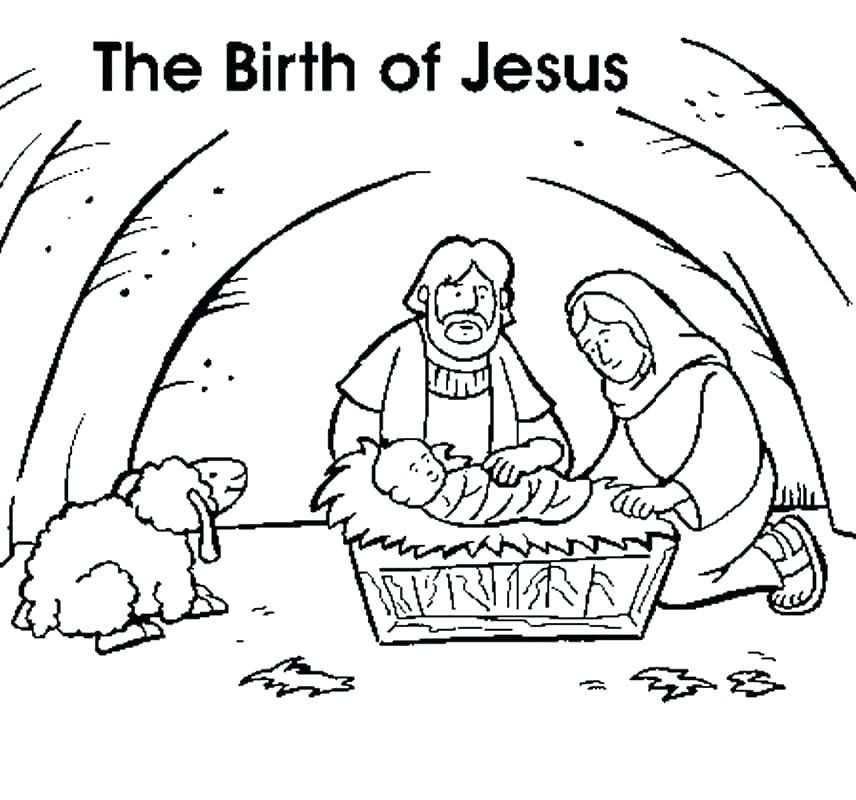 Grab your New Coloring Pages Jesus Birth For You , http ...