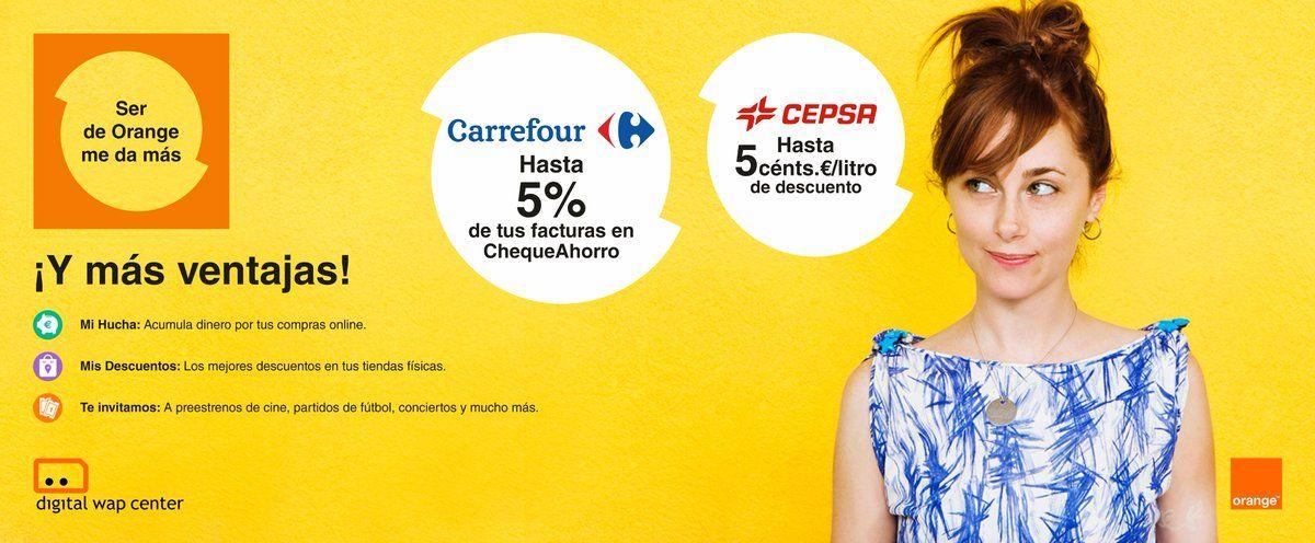 ¡Más ventajas! por ser cliente de @orange_es #DESCUENTOS http://serdeorange.orange.es/
