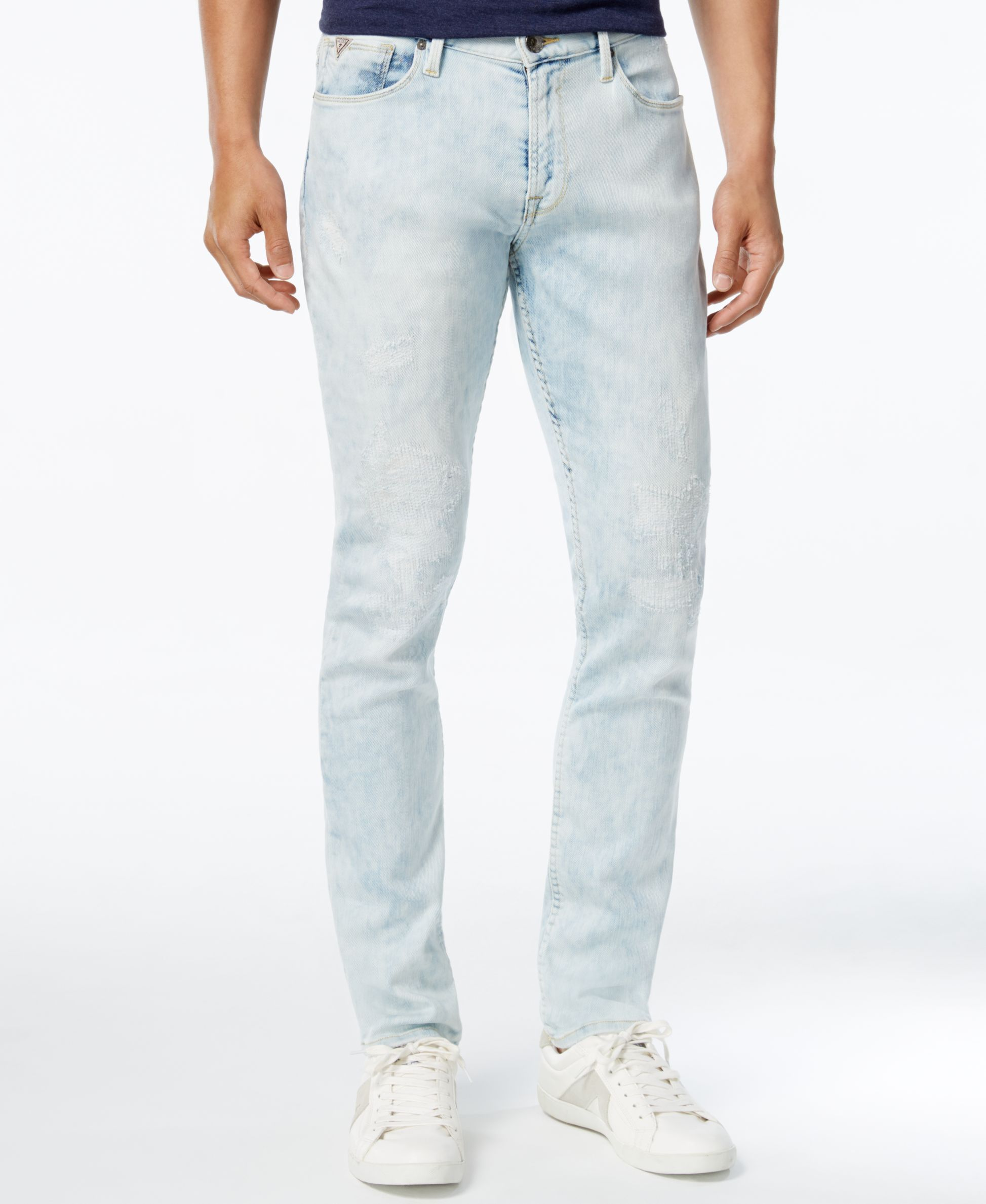 c457ef8b7a22 Guess Men s Slim-Fit Tapered Jeans   Products   Pinterest   Tapered ...