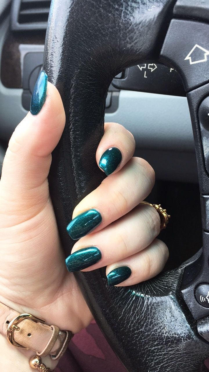 Emerald Green Acrylic Nails Green Acrylic Nails Emerald Nails Green Nails