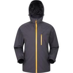 Brisk Extreme Wasserdichte Herrenjacke  Grau Mountain WarehouseMountain Warehouse Source by ladenzeile weather outfits
