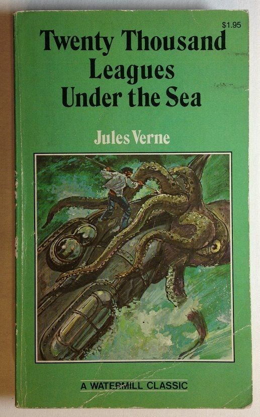 Twenty Thousand Leagues Under the Sea by Jules Verne (1980, Paperback)