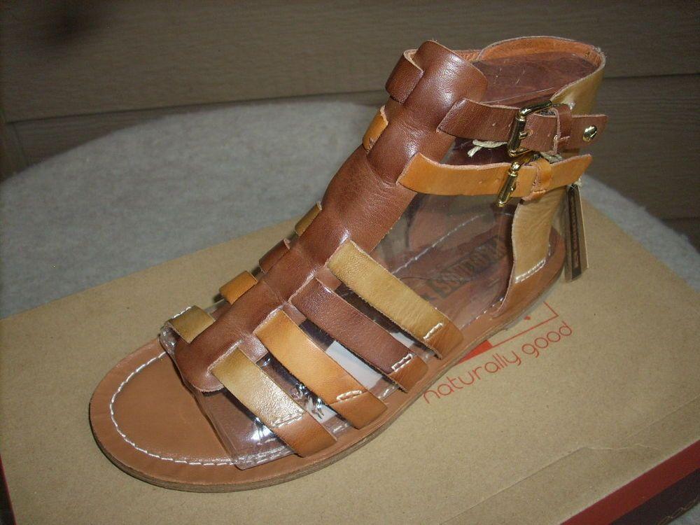 Leather New Sandals Pikolinos 7 Antonio Gladiator San 37 ED9I2WHY