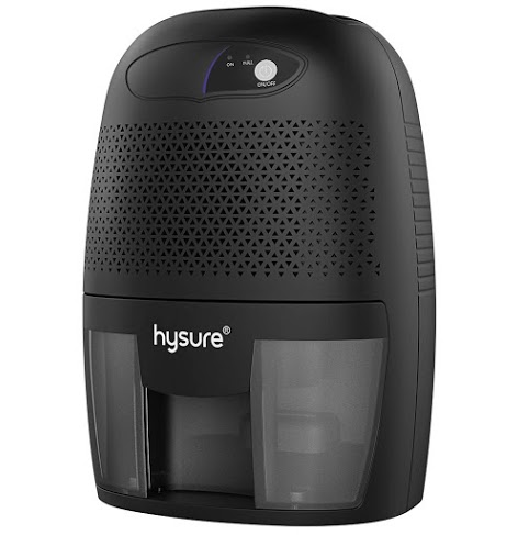 Hysure Household Portable Dehumidifier, 1400 Cubic Feet