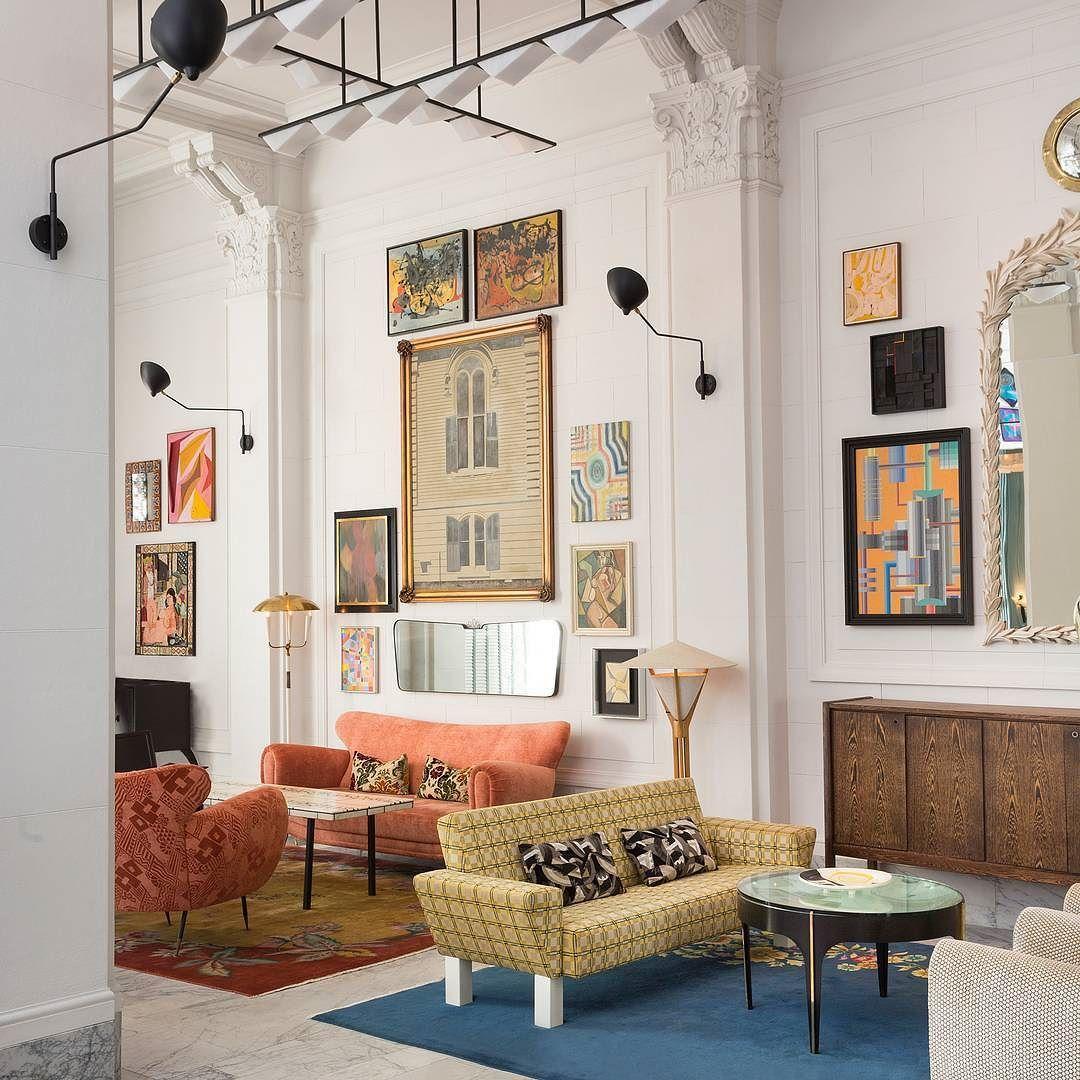 Modern Living Room San Francisco Best Interior Design 12: Grand Entrance. Lobby At San Francisco Proper. Xk