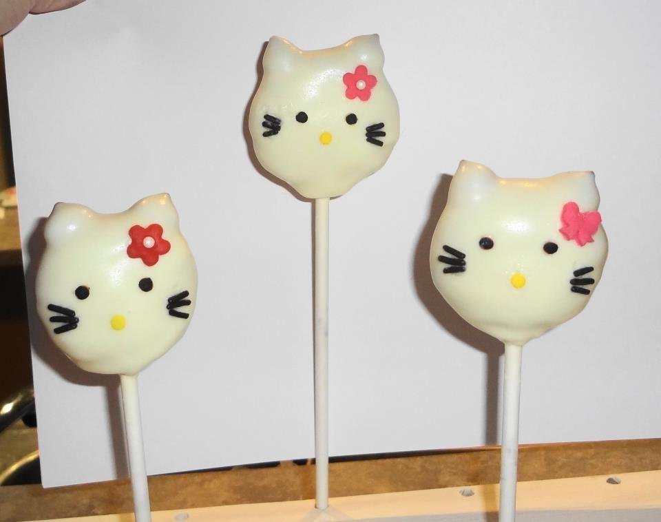 Hello kitty cake pops cake pops hello kitty cake